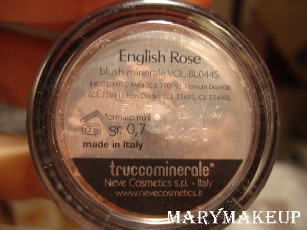 Neve Makeup_english rose