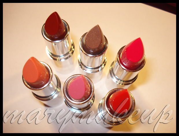 The Body Shop Color Crush Lipsticks