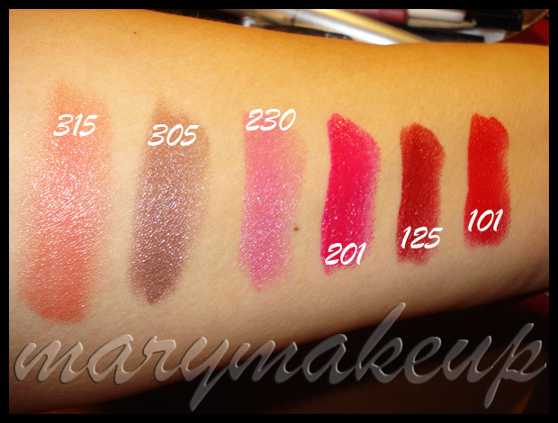 The Body Shop Colour Crush Lipsticks