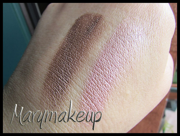 Color Tattoo 65 Pink Gold & 35 On and on Bronze swatches - luce naturale