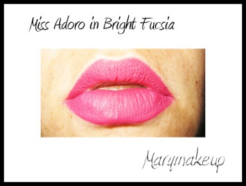 Miss Adoro Supreme Creamy Lipliner in Bright Fucsia