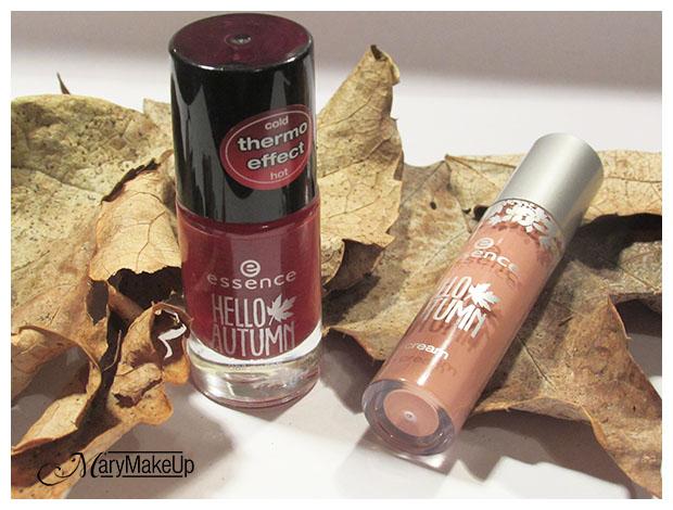 Autumn Trend Edition - Smalto Effetto Termosensibile e lucida labbra in crema