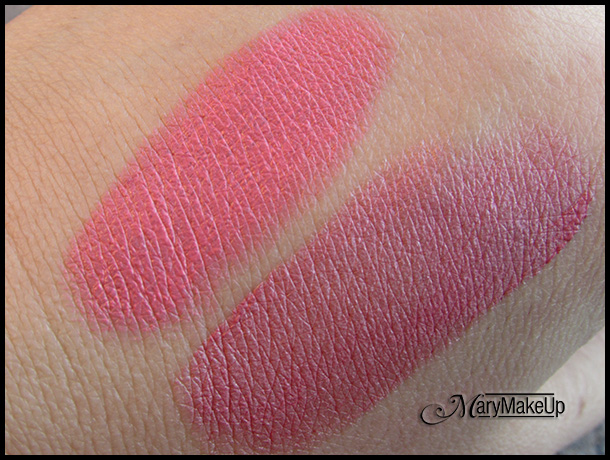 Luce Naturale - Never Sleeping Pink a sinistra e Soho Pink a destra