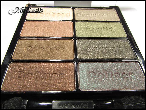 Wet 'n Wild Confort Zone eyeshadow palette