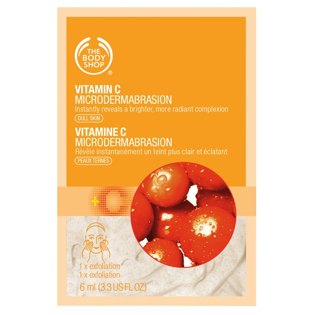 MICRODERMOABRASIONE MONODOSE ALLA VITAMINA C