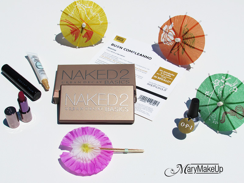 Sephora Gold Card Birthday Gift 2015