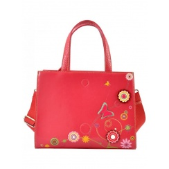 Borsa a mano Funky Floral Butterfly