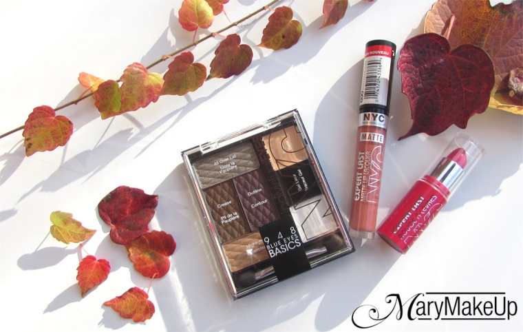 NYC palette & lipsticks