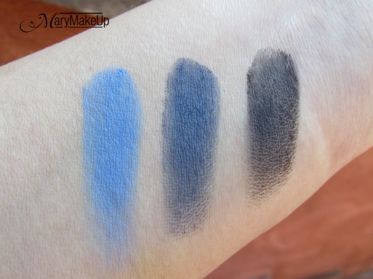 Shaka Innovative Beauty Matt Eyeshadows swatches