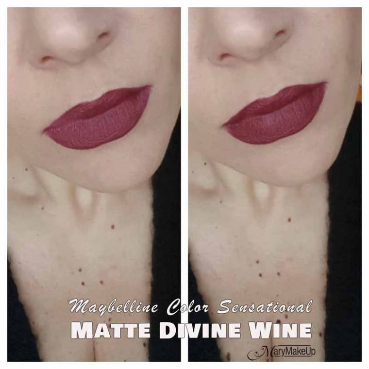 Maybelline Color Sensational Matte Divine Wine