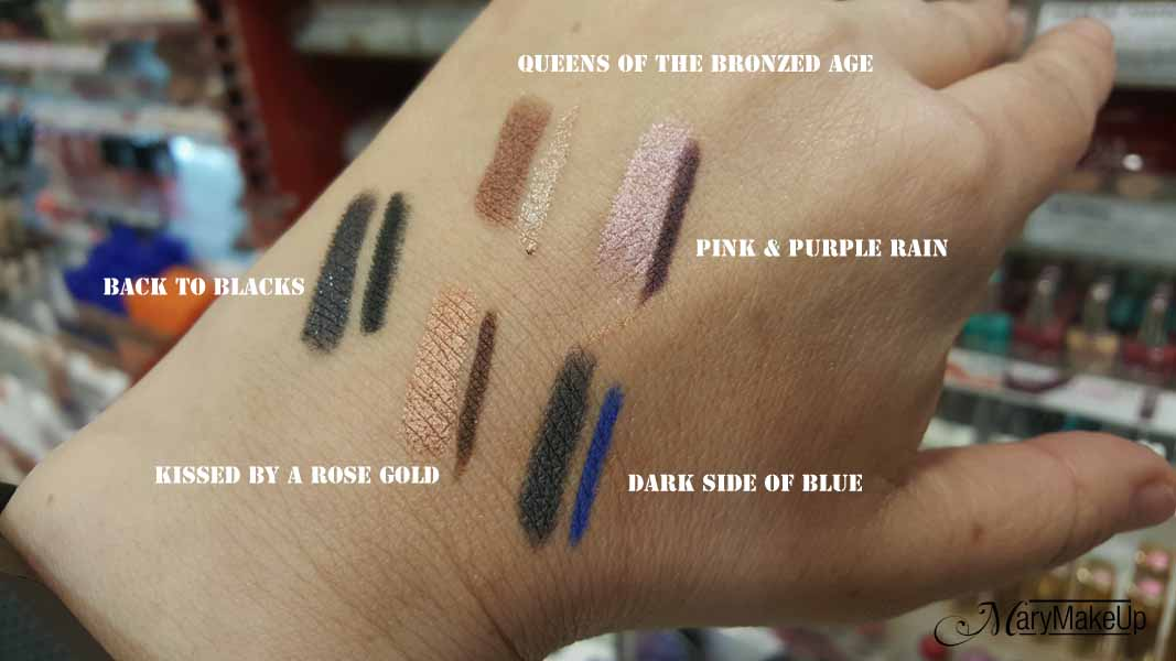 New Magnif'eyes Rimmel London Swatches
