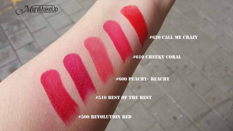 Rimmel London The Only 1 Swatches_02