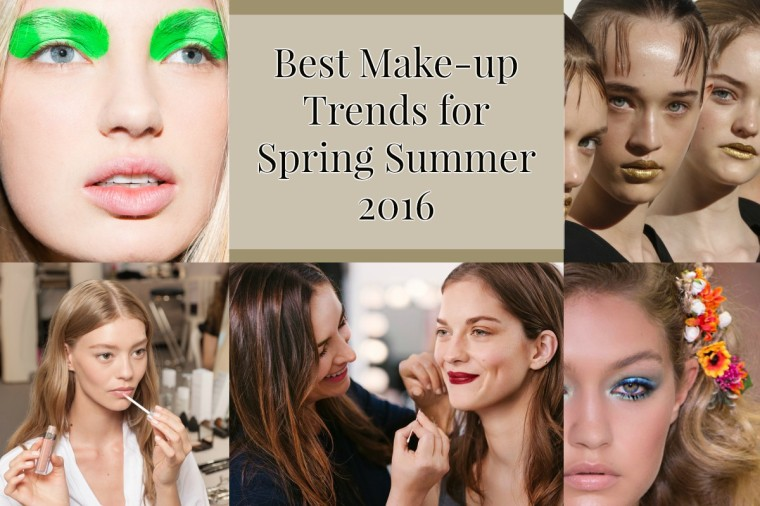 Best Make-up Trends for Spring/Summer 2016