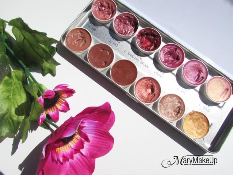 Kryolan Lip Rouge Palette