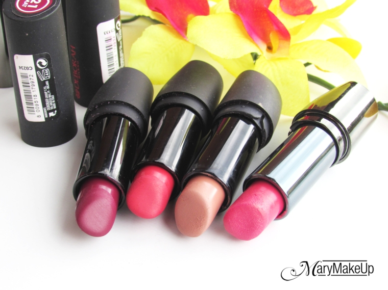 Deborah Milano Lipsticks Collection