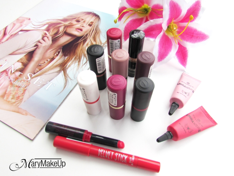 Essence Lipstick Collection