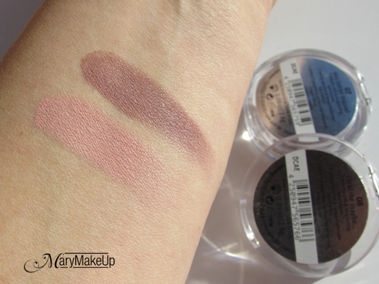 Essence Coral Me Maybe & You Better Mauve Eyeshadows