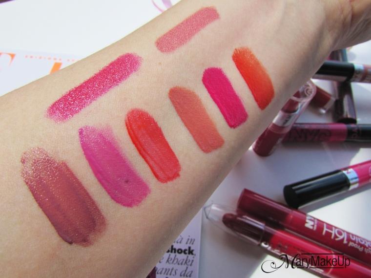 NYC Lipsticks Collection